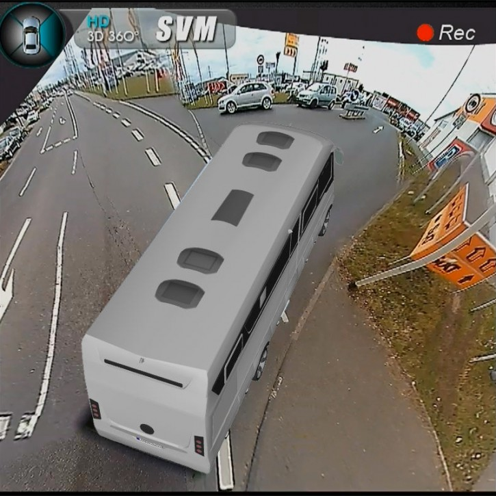 3D Rundumsicht für Niesmann+Bischoff Flair inkl. Einbau inkl. Einbau, ohne Kalibrierung