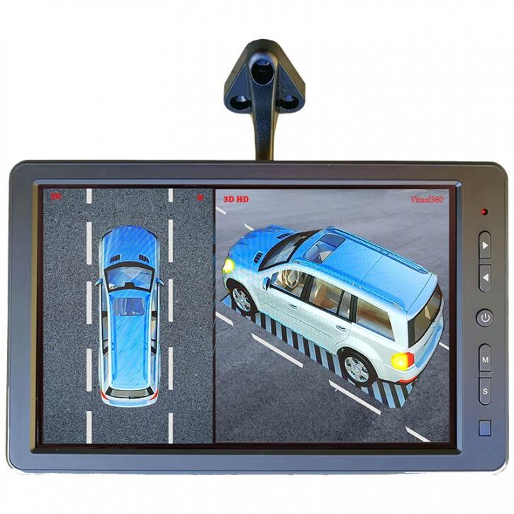 3D Rundumsicht für Mercedes GLS, GLE, GLC, GLA