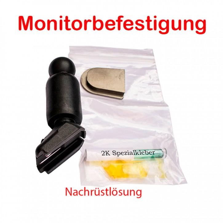 Universal Monitorfuß mit Kleber Aufnahmeplatte